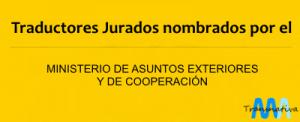 Traducción Jurada Oficial