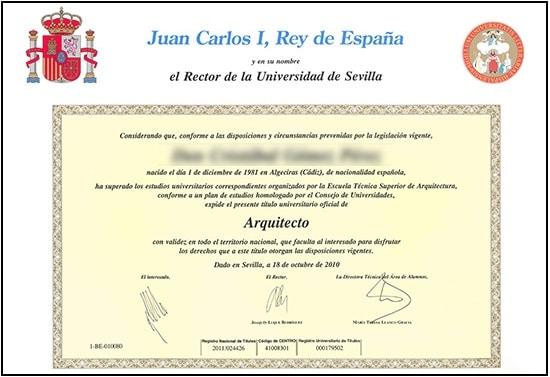 Traducción Jurada de un Título Universitario o Máster